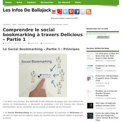 Comprendre le social bookmarking à travers Delicious - Partie 1
