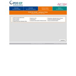 Comprendre le code du travail - OPCO EP