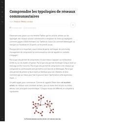 Comprendre les typologies de réseaux communautaires
