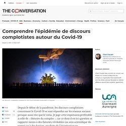 Comprendre l'épidémie de discours complotistes autour du Covid-19