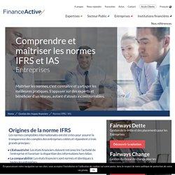Normes IFRS / IAS : comprendre et maîtriser ces normes comptables