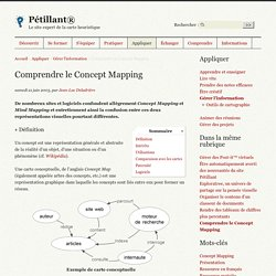 Comprendre le Concept Mapping