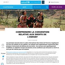 Comprendre la Convention relative aux droits de l'enfant