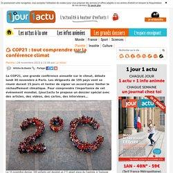 Comprendre la COP21 - 1jour1actu