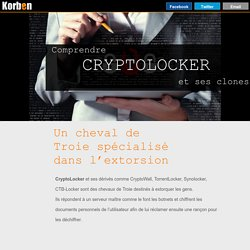 Comprendre Cryptolocker