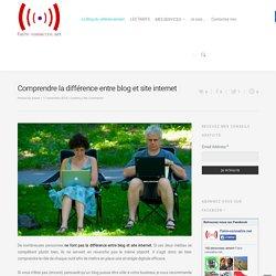 Comprendre la différence entre blog et site internet