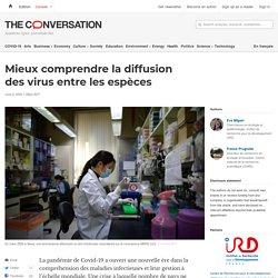 THE CONVERSATION 02/06/20 Mieux comprendre la diffusion des virus entre les espèces