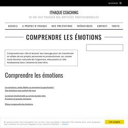 Mieux comprendre les émotions