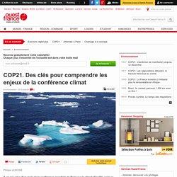 COP21. Des clés pour comprendre les enjeux de la conférence climat