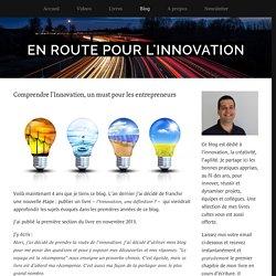 Comprendre l'Innovation, un must pour les entrepreneurs