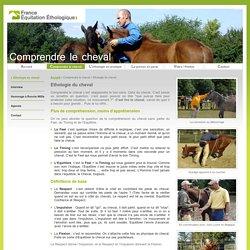 Ethologie cheval - Comprendre le cheval - France Equitation Ethologique