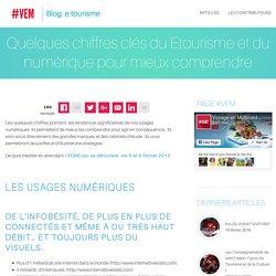 Quelques chiffres clés du Etourisme et du numérique pour mieux comprendre - Blog #VEM - Actu & veille etourisme Blog #VEM – Actu & veille etourisme