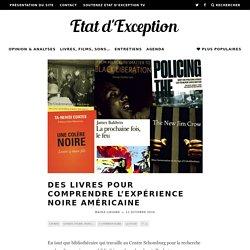 Des livres pour comprendre l'expérience noire américaine