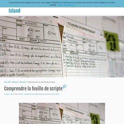 Comprendre la feuille de scripte - The Pixel Island