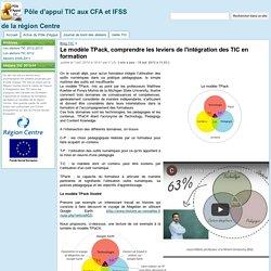 Le modèle TPack, comprendre les leviers de l'intégration des TIC en formation - Pôle d'appui TIC aux CFA et IFSS de la région Centre