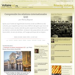 Comprendre les relations internationales (2/2), par Thierry Meyssan