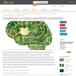 Comprendre le deep learning en 6 questions