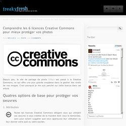 Comprendre les 6 licences Creative Commons pour mieux protéger vos photos