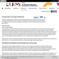 Comprendre une ligne éditoriale- CLEMI