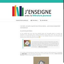 «Le vide», un autre coup de coeur d'Anna Llenas… pour mieux comprendre nos émotions! – J'enseigne avec la littérature jeunesse
