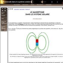 Le Magnétisme dans le système solaire