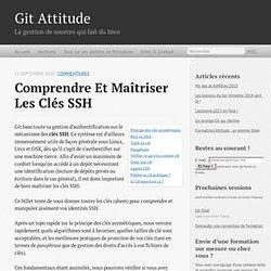 Git Attitude: formations Git qualitatives et sympathiques