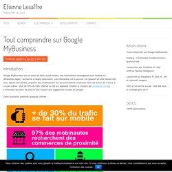 Tout comprendre sur Google MyBusiness - Etienne Lesaffre