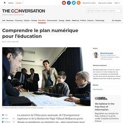 Critique du plan numérique pour l'éducation (the conversation, avril 2016)