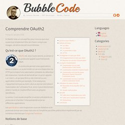 Comprendre OAuth2 « BubbleCode by Johann Reinke
