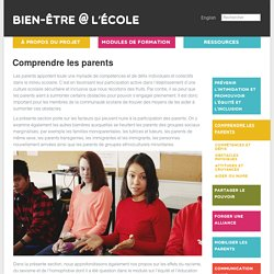 Comprendre les parents