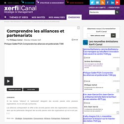 Philippe Gattet, Comprendre les alliances et partenariats - Comprendre