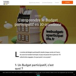 10 questions pour comprendre les budgets participatifs