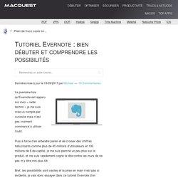 Tutoriel Evernote : Bien Débuter Et Comprendre Les Possibilités