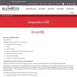 Qu'est-ce que la RSE ? - Réseau Alliances