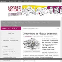 Comprendre les réseaux personnels – Mondes Sociaux