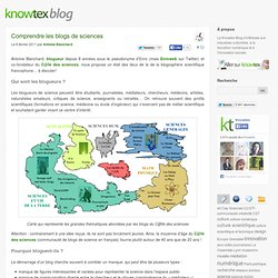 Comprendre les blogs de sciences