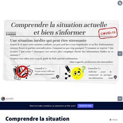 Comprendre la situation actuelle et bien s'informer by ox on Genial.ly