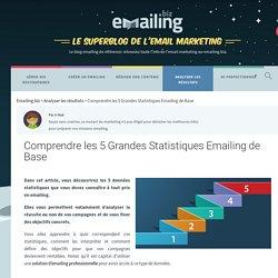 Comprendre les 5 Grandes Statistiques Emailing de Base