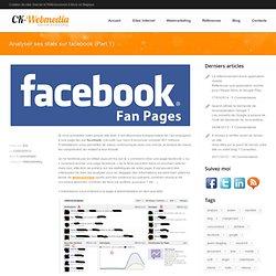 Comprendre les statistiques de sa page fan sur Facebook CK-webmedia