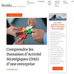 Comprendre les Domaines d'Activité Stratégiques (DAS) d'une entreprise - Stratika