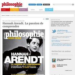 Les idées, Hannah Arendt, Banalité du mal, Totalitarisme, Travail, Autorité