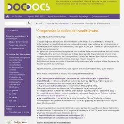 Comprendre la notion de translittératie - Doc pour docs