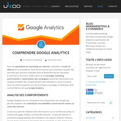 Comprendre l'utilité de Google Analytics