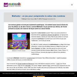 Mathador : un jeu pour comprendre la valeur des nombres - VousNousIls