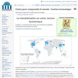 Cartes pour comprendre le monde/Lecture économique — Wikiversité