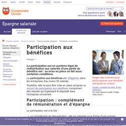 Participation aux bénéfices : principe - ComprendreChoisir