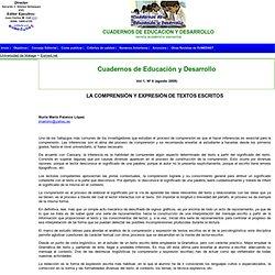 LA COMPRENSIÓN Y EXPRESIÓN DE TEXTOS ESCRITOS
