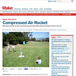 Compressed Air Rocket