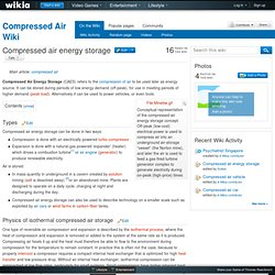 Compressed air energy storage - Compressed Air Wiki