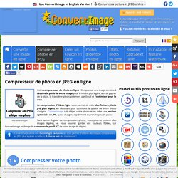 Compresser une photo en JPEG en ligne → ConvertImage
